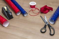 Imballaggio dei presente Fotografie Stock