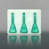 Imballaggio del prodotto della medicina Fotografia Stock Libera da Diritti