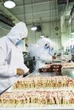 Imballaggio della carne Fotografie Stock Libere da Diritti