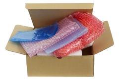 Imballaggio sicuro Fotografia Stock Libera da Diritti