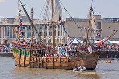 Imbarcazione della replica Fotografie Stock