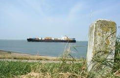 Imbarcazione di contenitore Fotografia Stock Libera da Diritti
