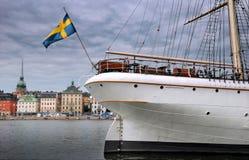 Imbarcazione di navigazione. Fotografie Stock
