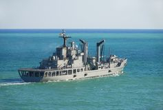 Imbarcazione militare Immagini Stock