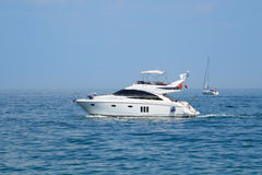 Imbarcazione a motore Immagine Stock Libera da Diritti