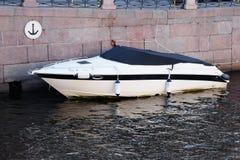 Imbarcazione a motore Fotografia Stock Libera da Diritti