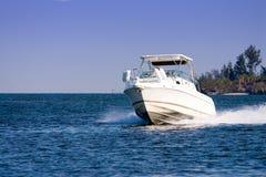 Imbarcazione a motore Immagini Stock