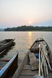 Imbarcazione a remi Fotografie Stock