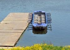 Imbarcazione a remi fotografia stock