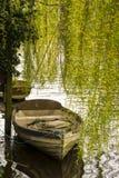Imbarcazione a remi di Moord Fotografia Stock
