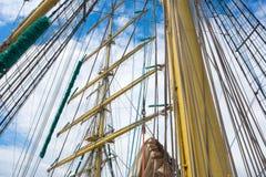 Imbarcazione a vela Fotografia Stock