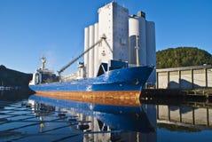 Imbarcazioni di carico Fotografia Stock