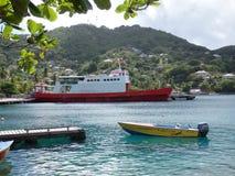 Imbarcazioni a Port Elizabeth, Bequia Immagini Stock Libere da Diritti