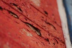 Imbarchi parete del trickleoff della riduzione di attività della pittura del pavimento della plancia sulla vecchia Immagine Stock