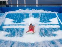 Imbarco del corpo dell'adolescente Immagine Stock Libera da Diritti