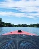 Imbarco di estate fotografia stock libera da diritti