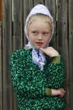 Imbirowa dziewczyna Od Past Zdjęcie Stock