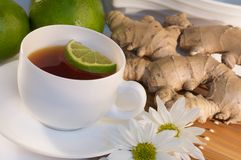 imbirowa herbata Zdjęcia Stock