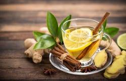 Imbirowa herbata zdjęcie stock
