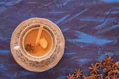Imbirowa herbata obrazy royalty free