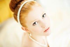 Imbirowa panna młoda zdjęcie royalty free