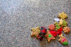 Imbirowi Chlebowi ciastka Zdjęcia Stock