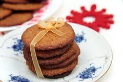 Imbirowi ciastka Zdjęcie Royalty Free