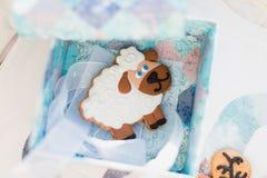 Imbirowi ciastka Zdjęcie Stock