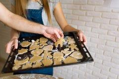 Imbirowi ciastka - zwierzęta zdjęcia royalty free