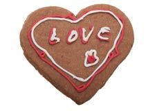 Imbirowy Bożenarodzeniowy ciastko. zdjęcia royalty free