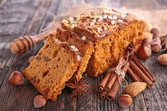 Imbirowy chleb Obraz Royalty Free
