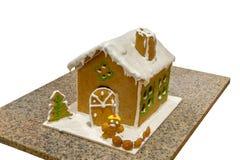 Imbirowy chleba dom zdjęcia royalty free