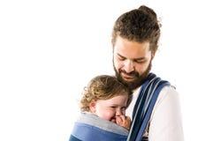 Imbracatura del bambino Fotografia Stock