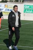 Imbriani. The coach of benevento football team.febrary 2012 royalty free stock image