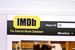 imdb Royaltyfri Foto