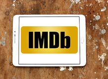IMDb strony internetowej logo Fotografia Royalty Free
