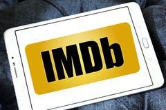 IMDb strony internetowej logo Obraz Royalty Free