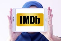 IMDb strony internetowej logo Zdjęcie Stock