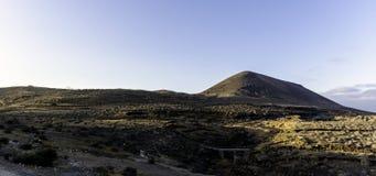 Ime ¼ El Barranco de Tenegà к ноча Стоковое Фото