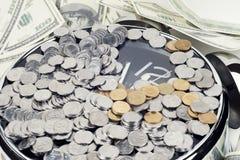 Ime деньги и богатство Стоковая Фотография RF