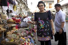 Imelda Marcos Stock Photography