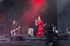 Imelda May & Levellers Royalty Free Stock Image