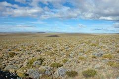Imensidade do Patagonia Foto de Stock Royalty Free