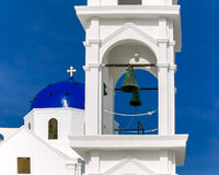 Imerovigli Anastasi Church of Santorini, Greece Royalty Free Stock Photo