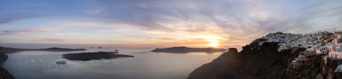 Imerovigli, Santorini Immagine Stock