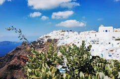 Imerovigli, Santorini Royalty-vrije Stock Foto