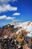 Imerovigli, Santorini Royalty-vrije Stock Afbeeldingen
