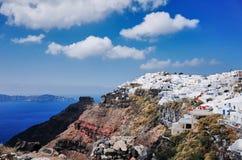 Imerovigli, Santorini Stock Foto