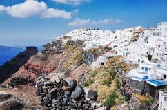 Imerovigli, Santorini Royalty-vrije Stock Foto's