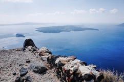 Imerovigli, Santorini fotografia stock